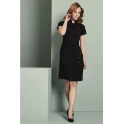 Asimetrinė suknelė, juoda