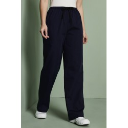 Unisex scrub kelnės, mėlynos / navy
