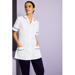 Medicininė tunika / chalatas, moteriška, balta