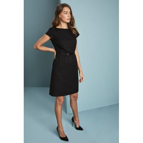 Alderley A-line suknelė, Black Twill
