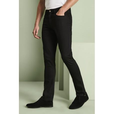 Vyriškos Slim Leg kelnės, Regular, juodos