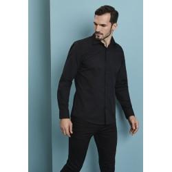 Vyriški marškiniai ilgomis rankovėmis, Black
