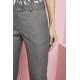 Contemporary kelnės, Slim Leg, pilkos, nepalenktos