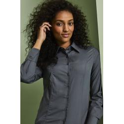 Moteriški marškiniai ilgomis rankovėmis, juodi