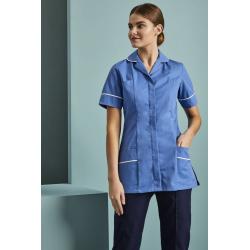 Essentials Women's Classic Collar Medicininė tunika