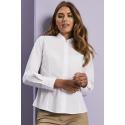 Mandarin apykaklės tipo marškiniai ilgomis rankovėmis